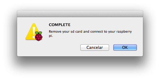 Préparer sa carte SD avec un Mac
